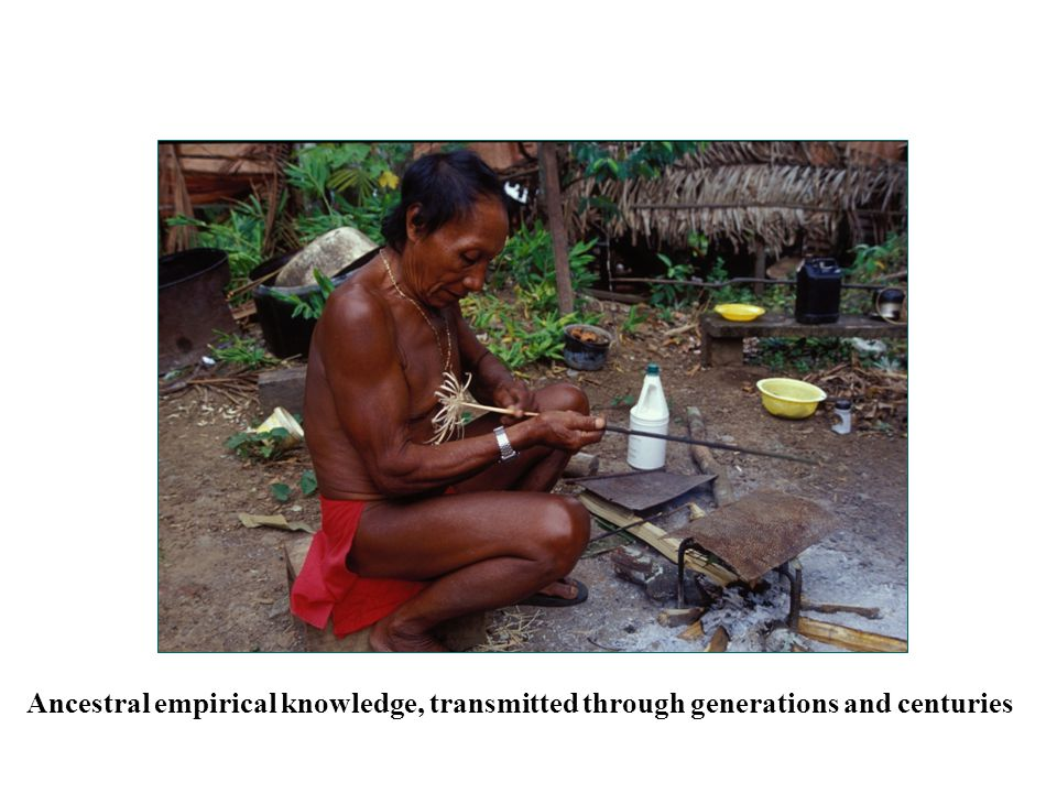 Ancestral empirical knowledge, transmitted through generations and centuries