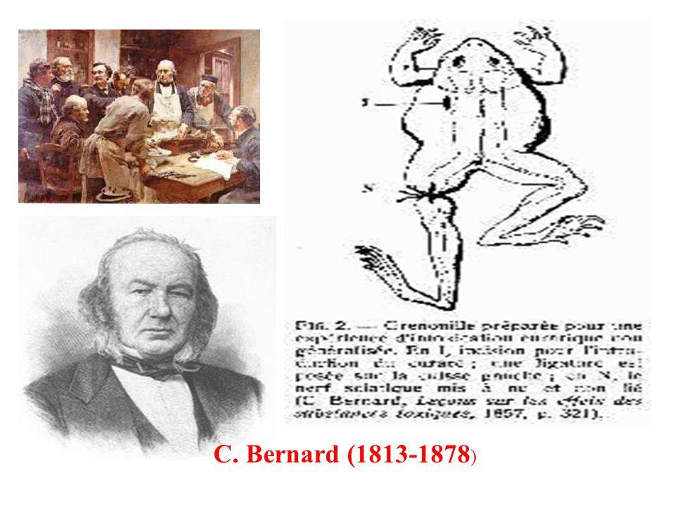 C. Bernard (1813-1878 )