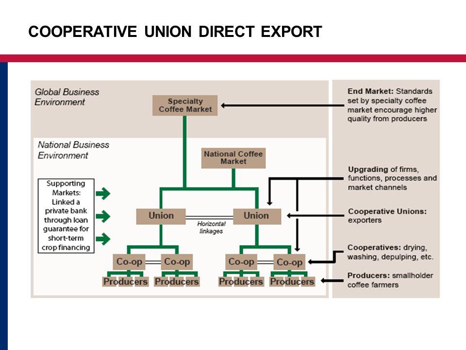 COOPERATIVE UNION DIRECT EXPORT