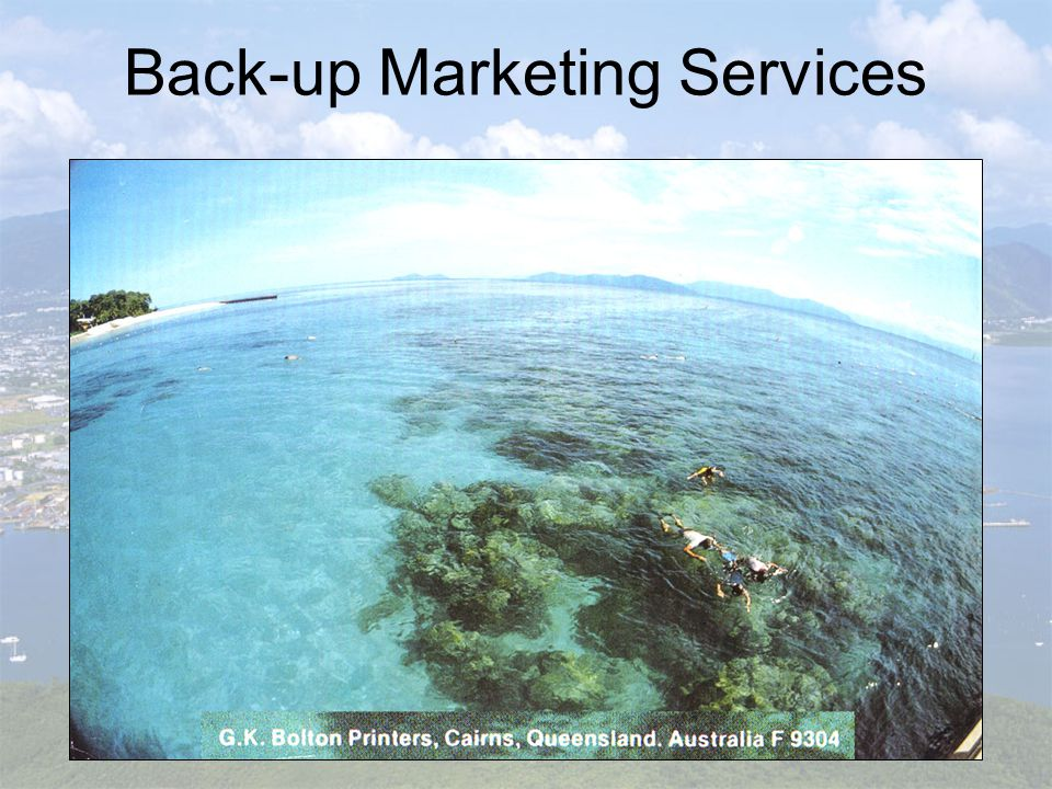 Back-up Marketing Services