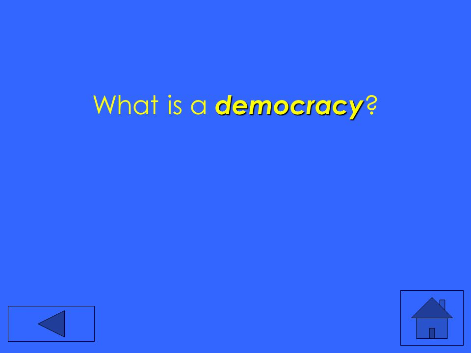 democracy What is a democracy