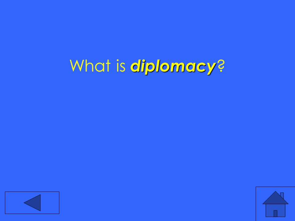 diplomacy What is diplomacy