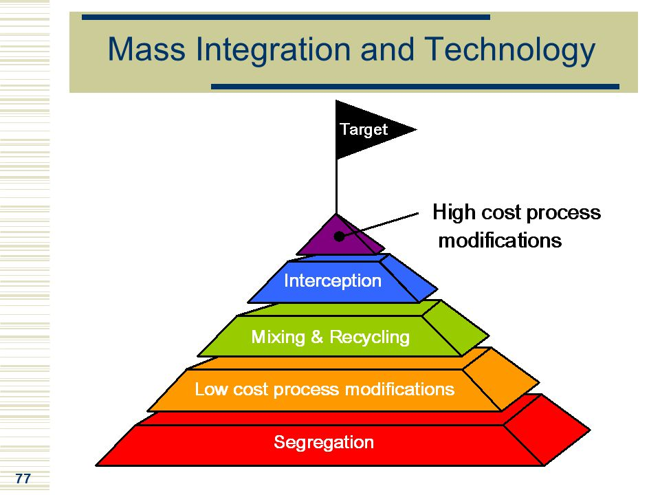 77 Mass Integration and Technology