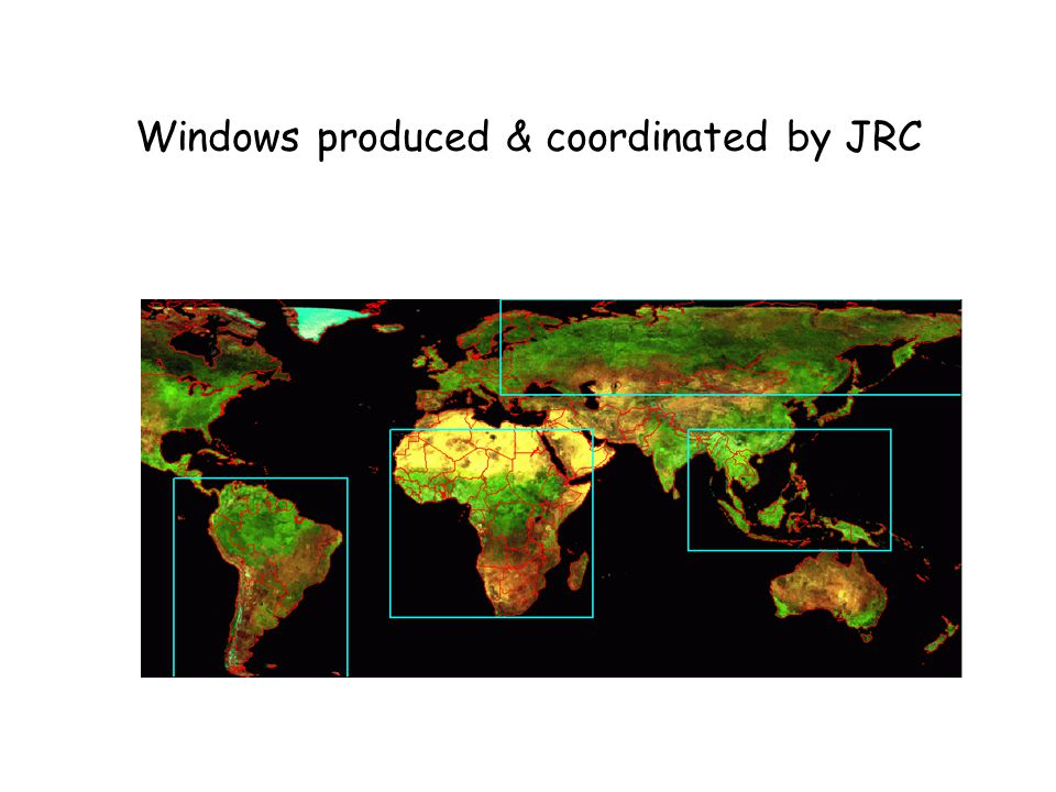 Windows produced & coordinated by JRC