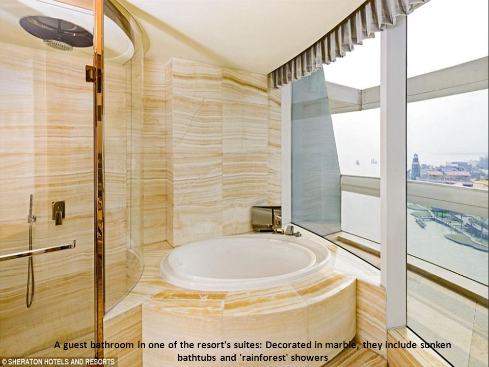 Clean and well-appointed: A King Premier Room. Other features of the accommodation include walk-in wardrobes, in-room safes, ironing boards and wake-u