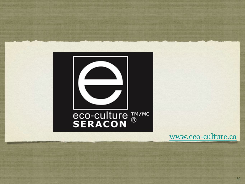 www.eco-culture.ca 20