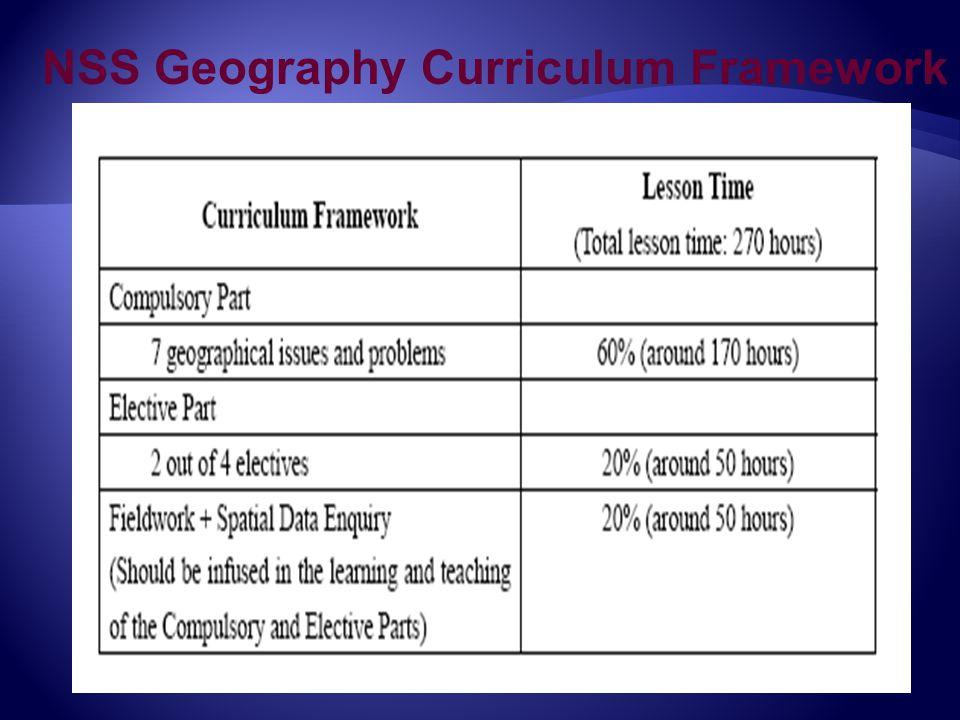 NSS Geography Curriculum Framework