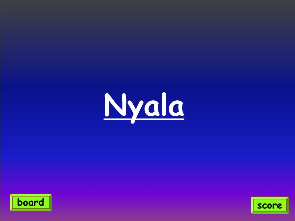 Nyala score board