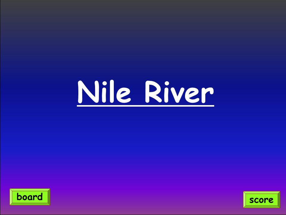 Nile River score board