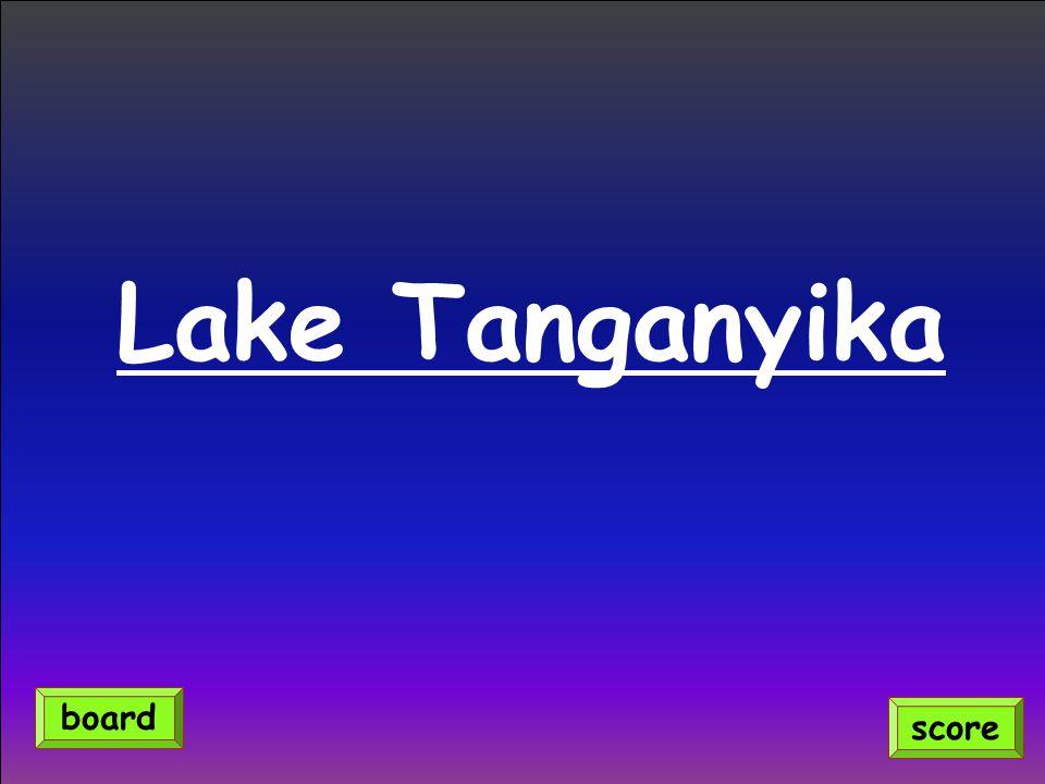 Lake Tanganyika score board