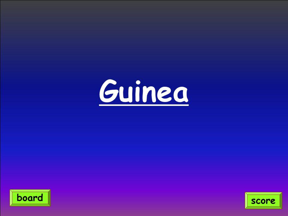 Guinea score board