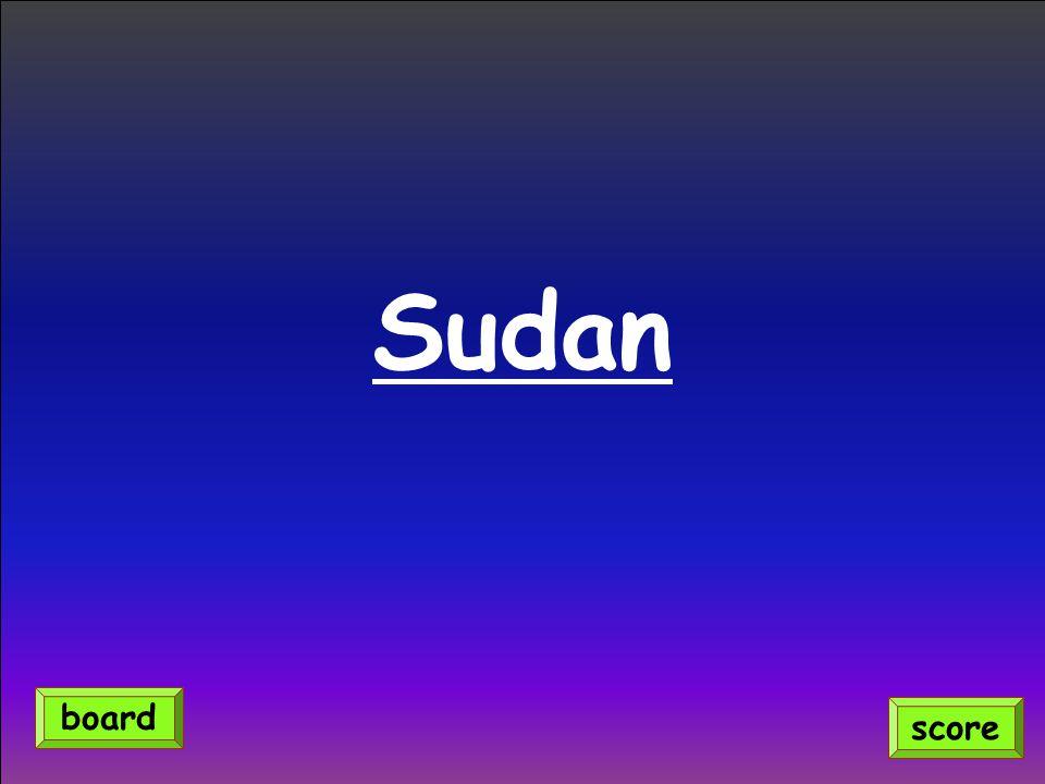 Sudan score board