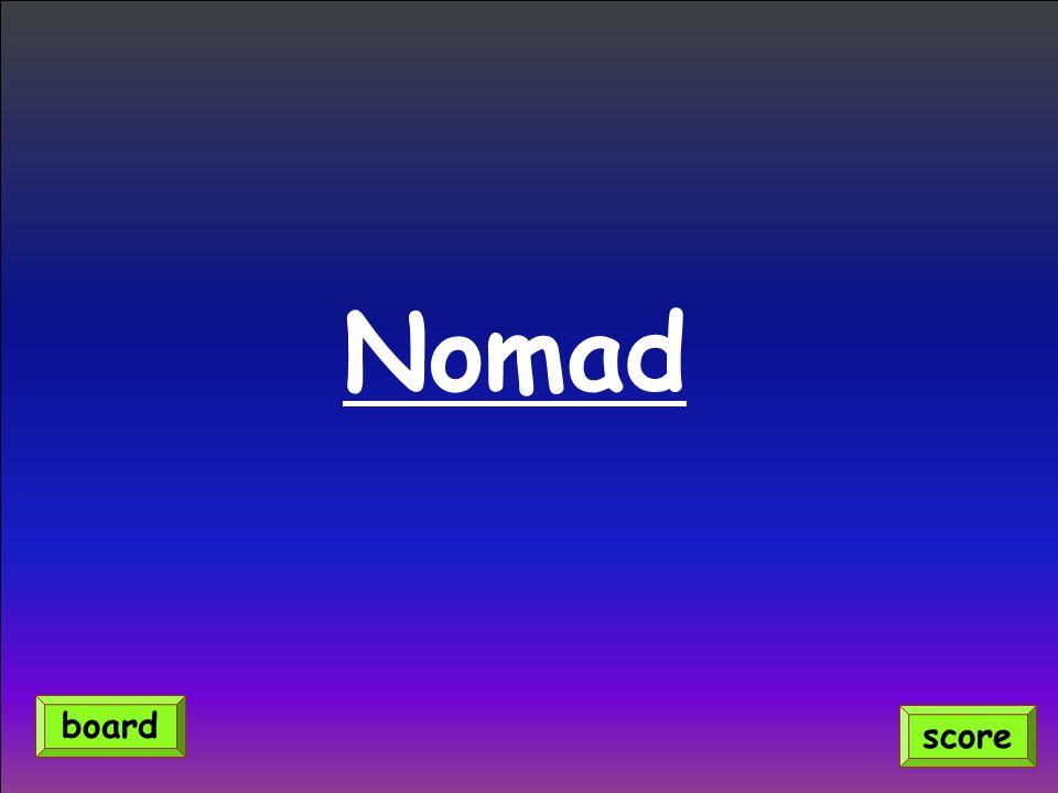 Nomad score board