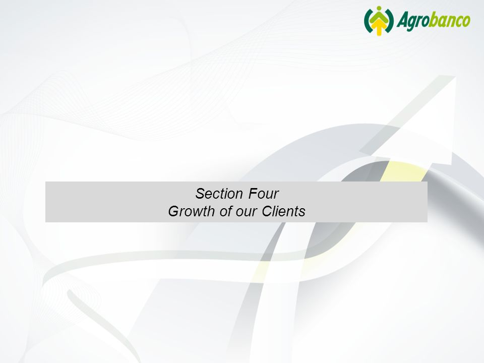 Section Four Growth of our Clients