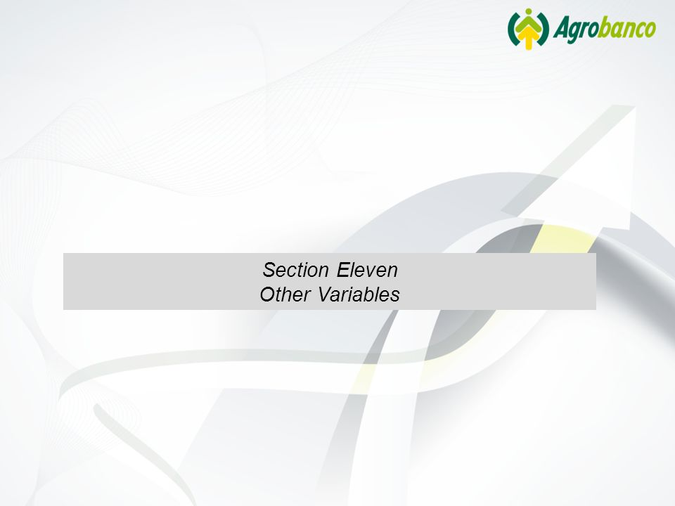 Section Eleven Other Variables