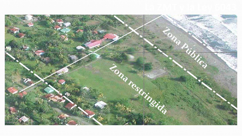 Zona Pública Zona restringida La ZMT y la Ley 6043