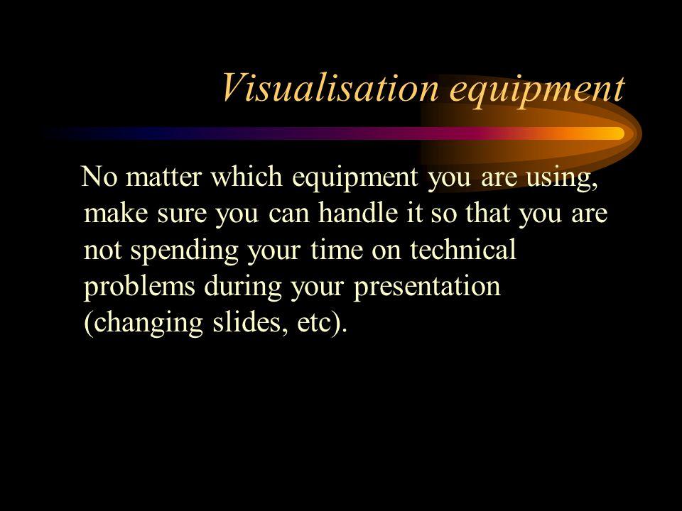 Bad slide: Too many colours & fonts Make enough slides Make meaningful slides Mind speling on yur slids Provide good comments Do not just read from the slides