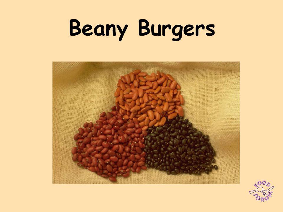 Beany Burgers