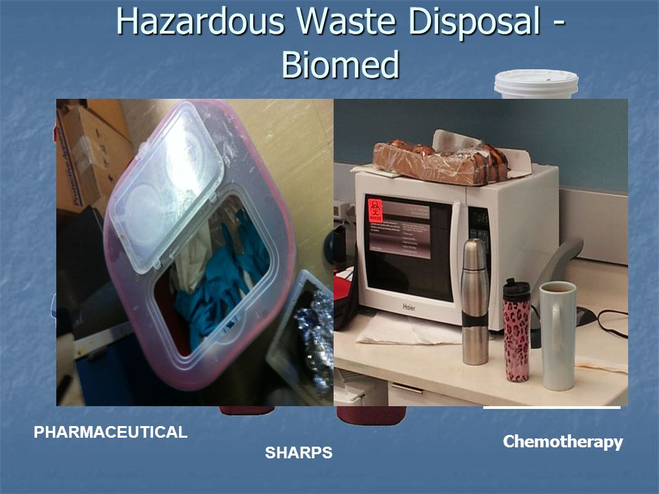 Hazardous Waste Disposal - Biomed PATHOLOGICAL PHARMACEUTICAL SOLID SHARPS Chemotherapy
