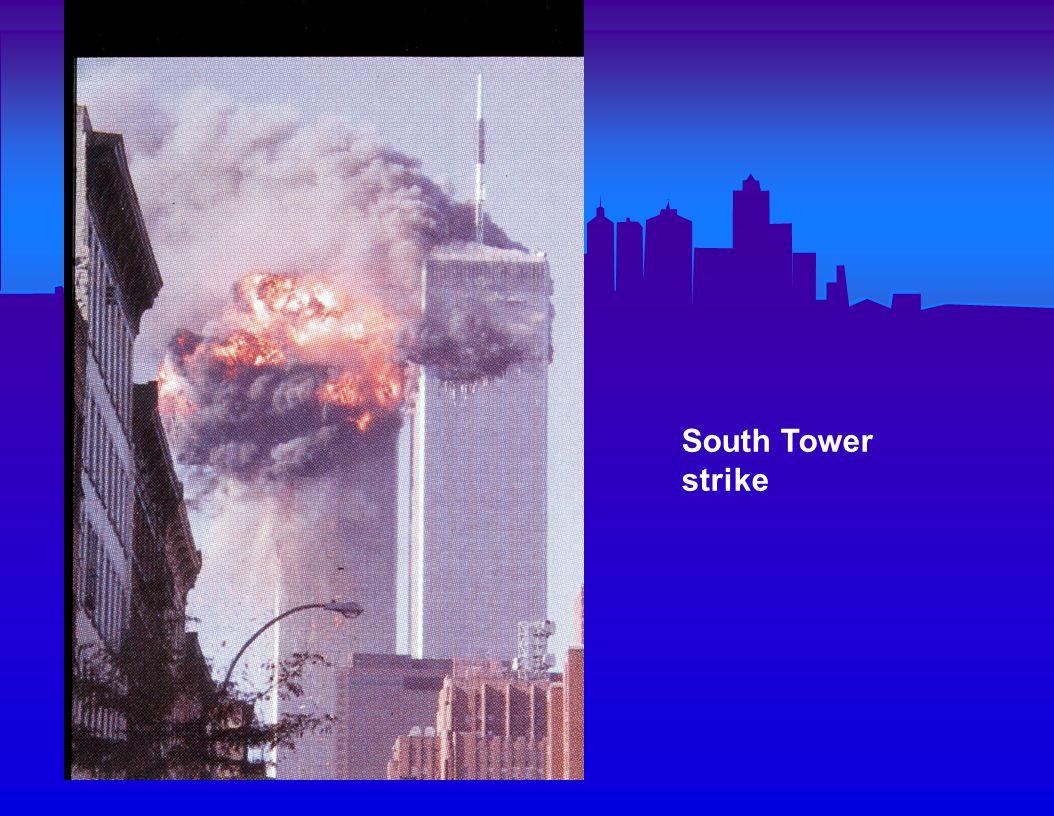 South Tower strike