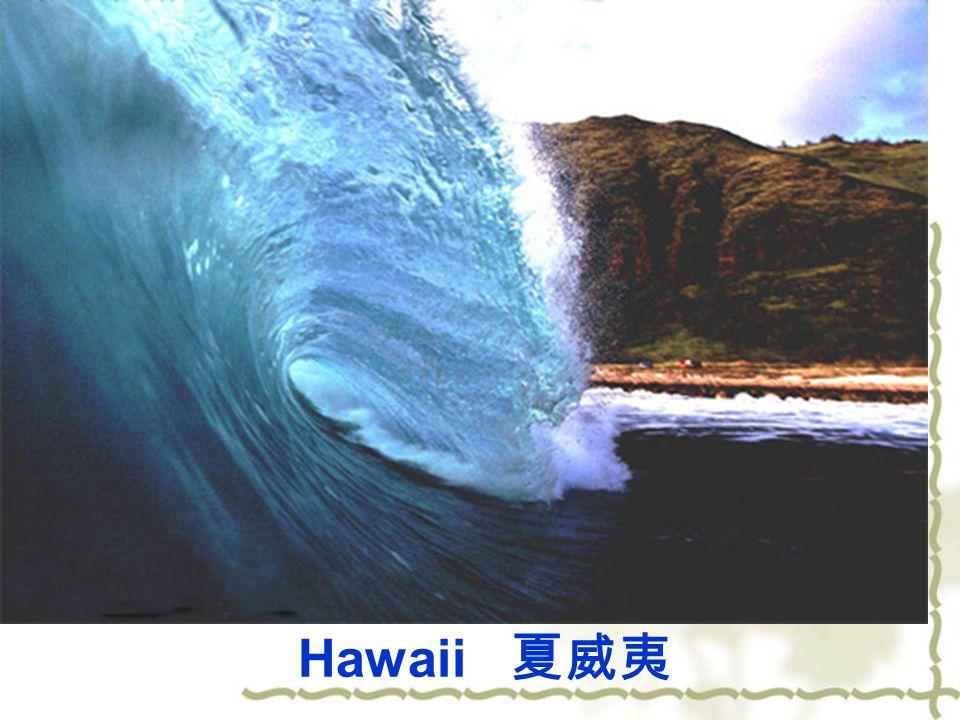 Hawaii 夏威夷