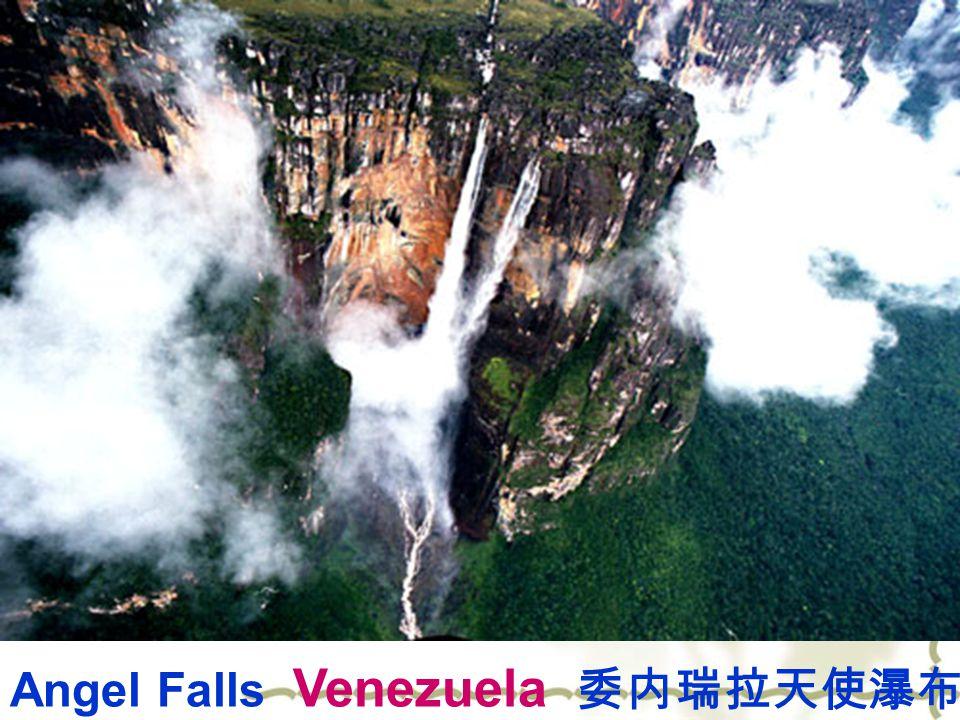 Angel Falls Venezuela 委内瑞拉天使瀑布