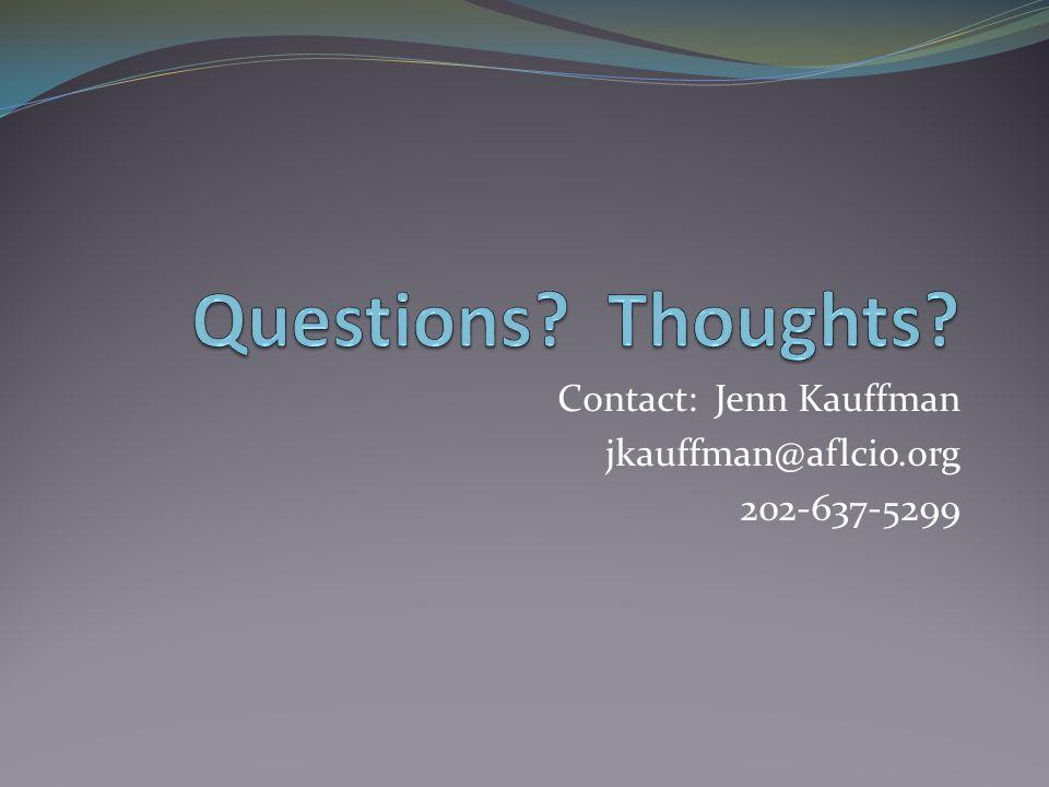 Contact: Jenn Kauffman jkauffman@aflcio.org 202-637-5299