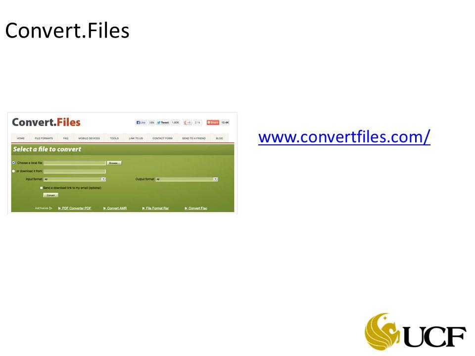 Convert.Files www.convertfiles.com/