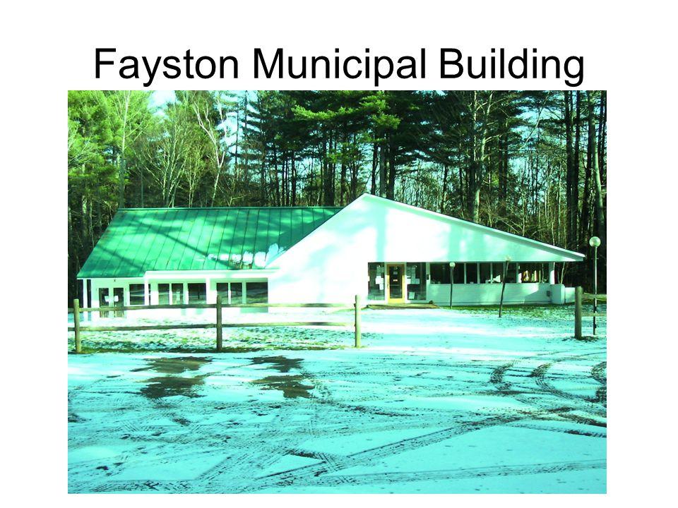 Fayston Municipal Building