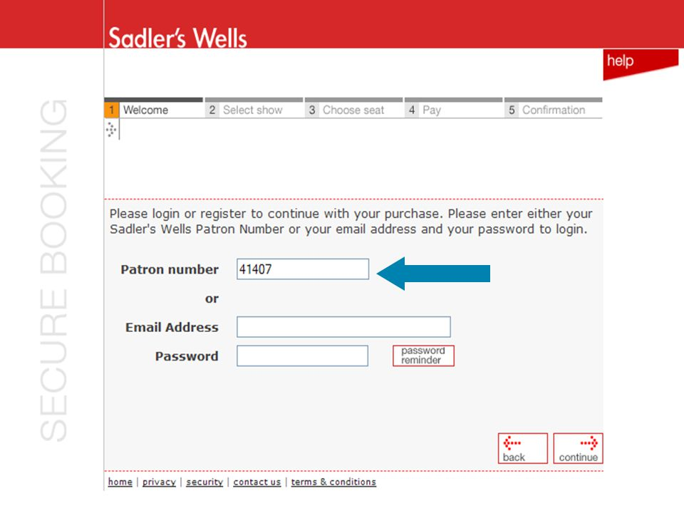 Sadler's login