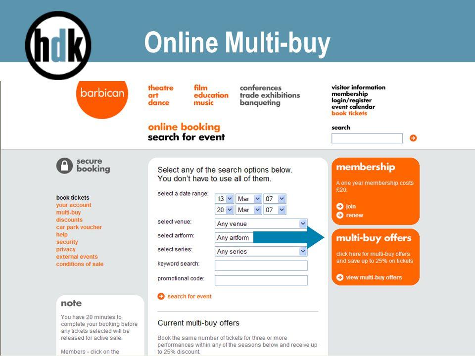 Online Multi-buy