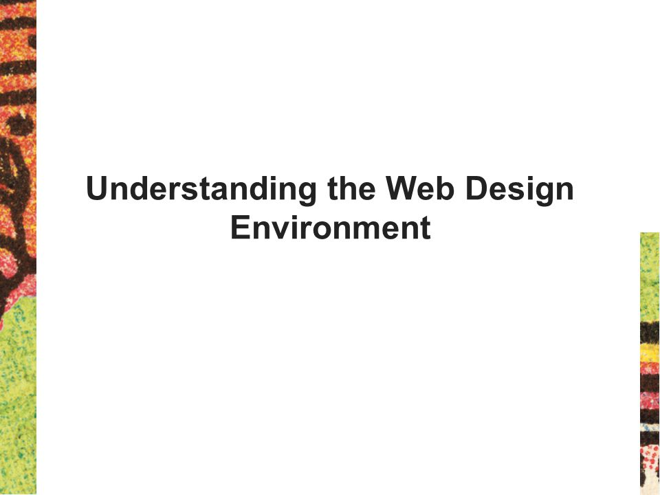 Creating a Unified Site Design Plan the unifying themes and structure for your site Communicate a visual theme with your design choices Consider more than each page Plan smooth transitions Use a grid to provide visual structure Include active white space 34 Principles of Web Design 5 th Ed.