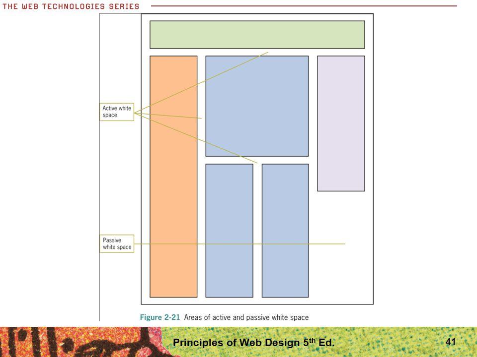 41 Principles of Web Design 5 th Ed.
