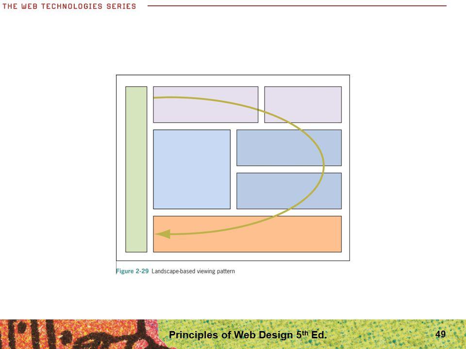 49 Principles of Web Design 5 th Ed.