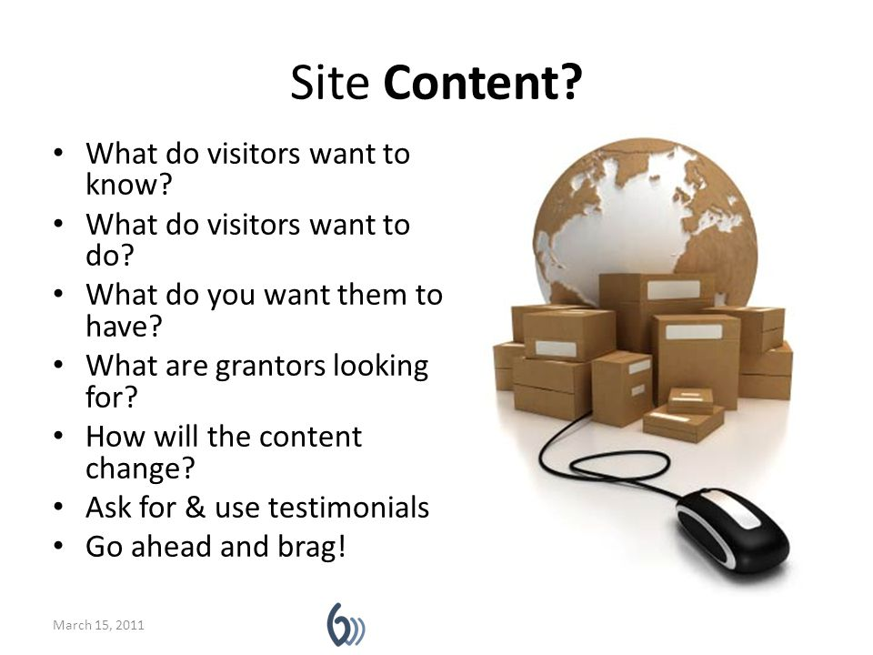 Private content Is some content restricted to limited group.