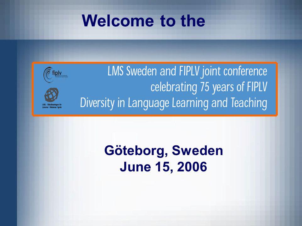Göteborg, Sweden June 15, 2006