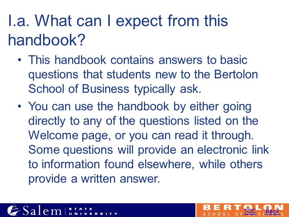 I.a. What can I expect from this handbook.