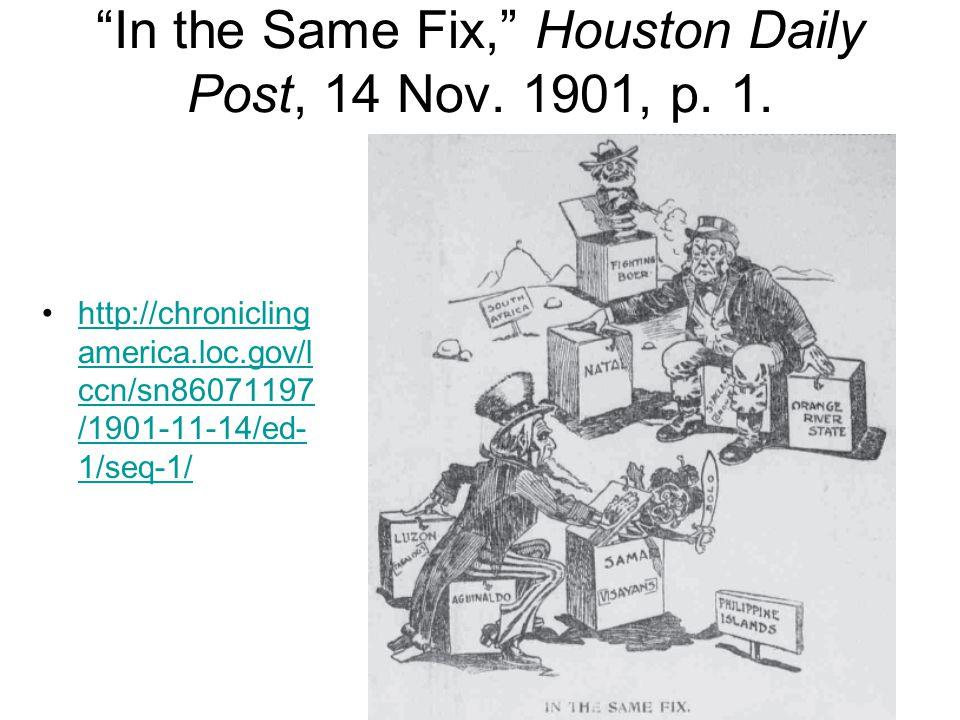 In the Same Fix, Houston Daily Post, 14 Nov.1901, p.