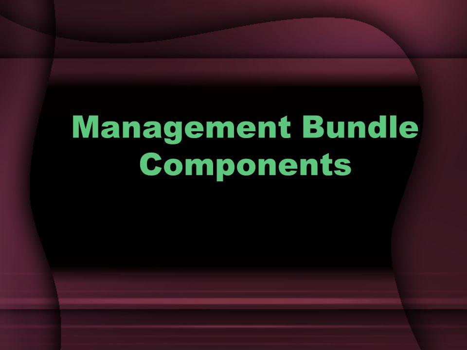 Management Bundle Components