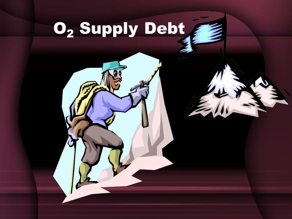 O 2 Supply Debt