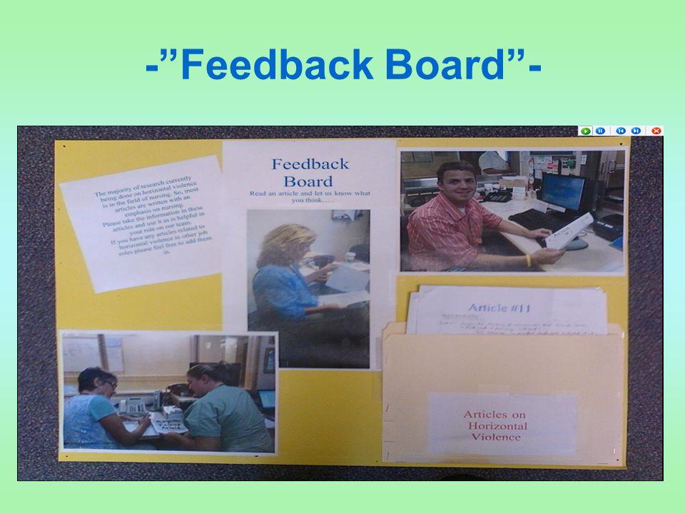"""-""""Feedback Board""""-"""