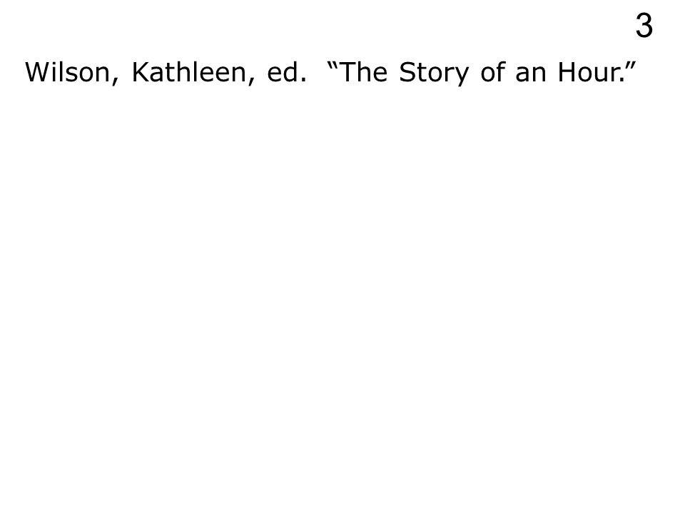 Wilson, Kathleen, ed. 3