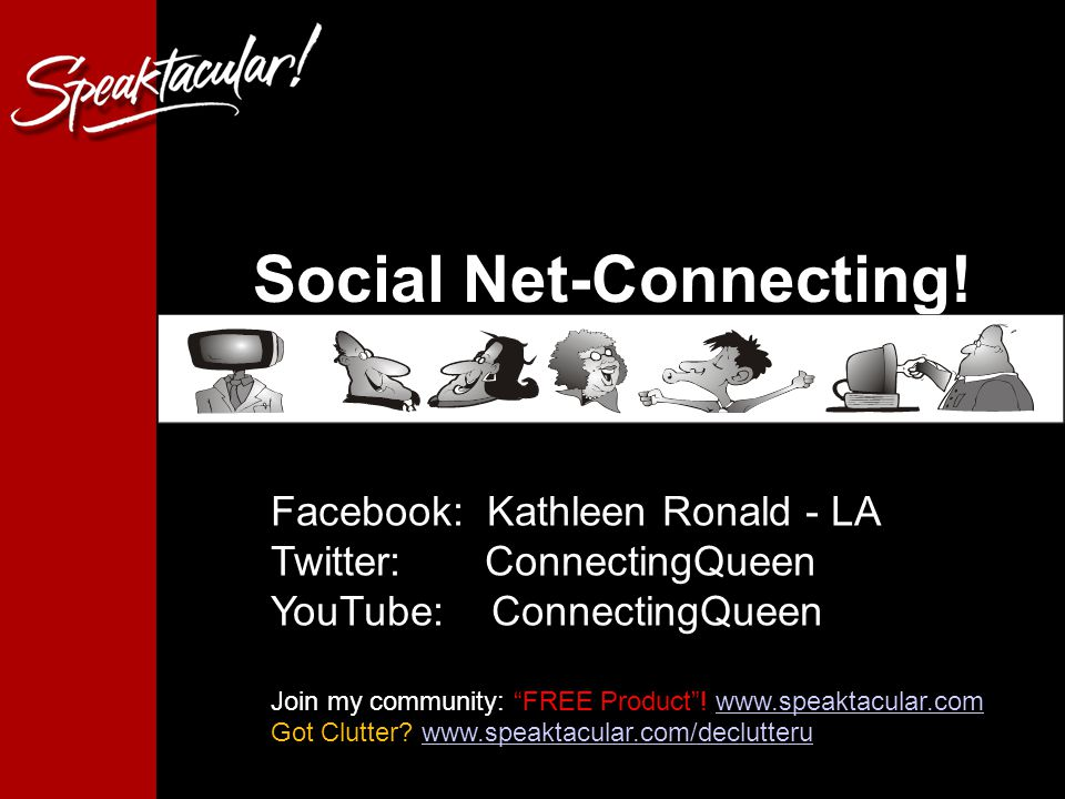with Social Net-Connecting.