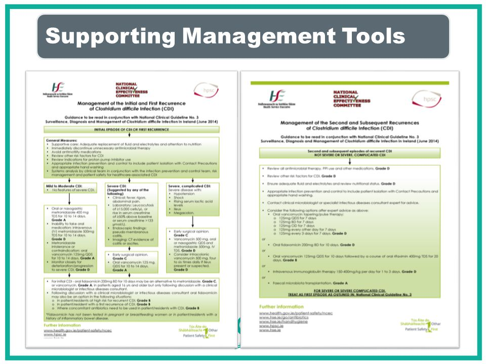 Supporting Management Tools