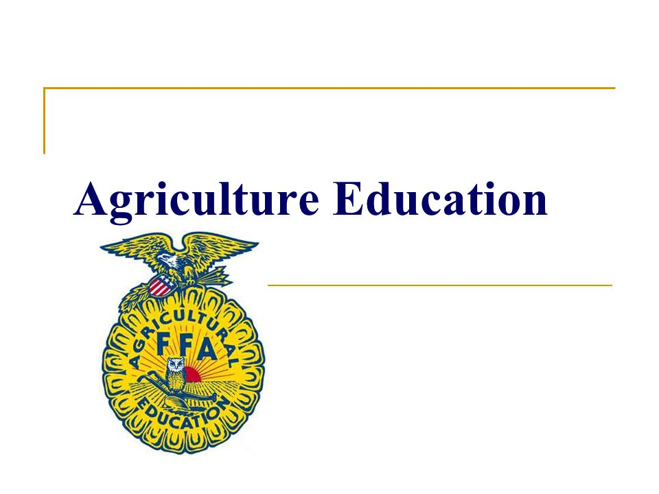 Scholarships Through Agriculture education and FFA students are qualified to apply for many Scholarships.
