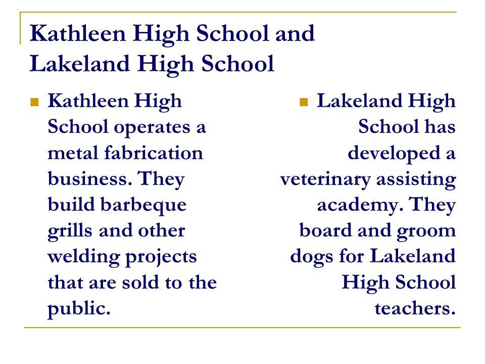 Bartow High School Bartow High School Has a Plant Rental Business.