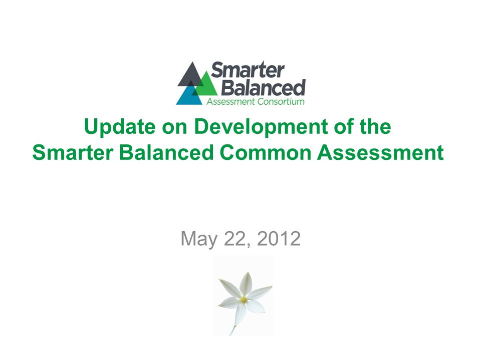 22 Transition to SMARTER Balanced Assessment Content Specifications Item Specifications Test Specifications Accountable for 2002/2003 ELA Content Standards through Spring 2014 Accountable for Common Core State Standards in Spring 2015
