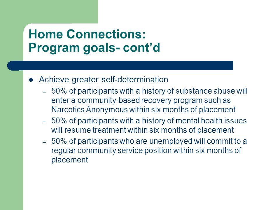Home Connections: Client Demographics