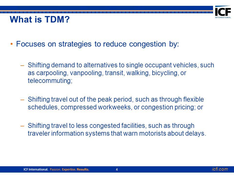 icfi.com 4 What is TDM.