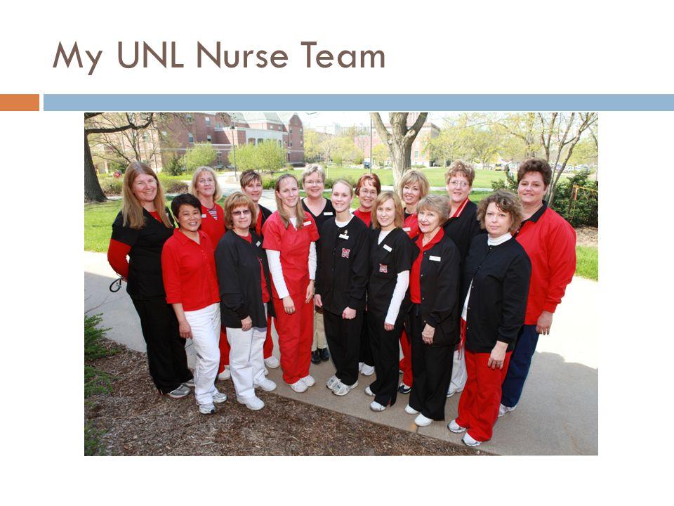 My UNL Nurse Team
